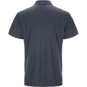 super.natural Essential Polo Shirt Men Navy Blazer Melange